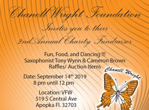 2nd Annual Charity Fundraiser